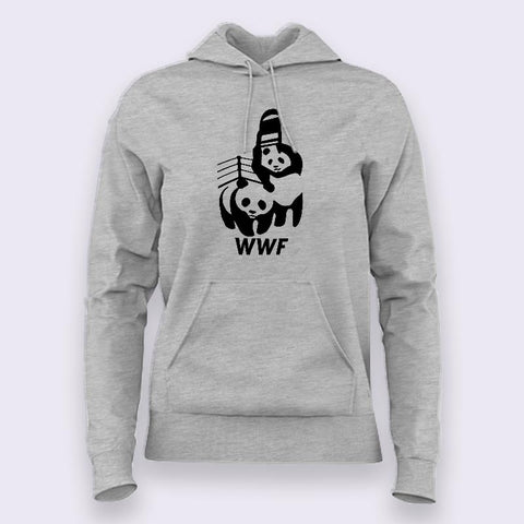 WWF/WWE Panda Parody Hoodies For Women Online India