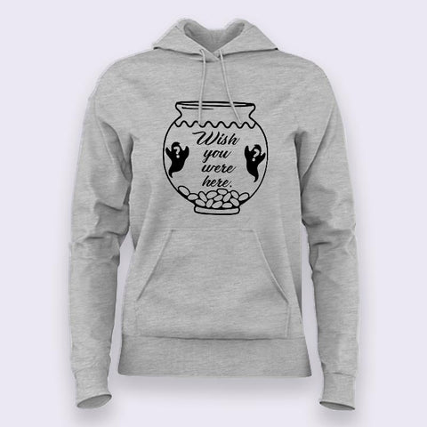Two Lost Souls Swimming in a Fish Bowl Pink Floyd Hoodies For Women Online India