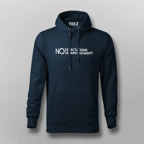 Expect Nothing  Hoodies For Men Online India
