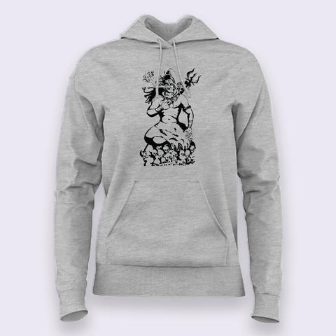 Lord Shiva Holy Smoke Hoodies For Women Online India