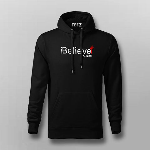 iBelieve John 3:16 Hoodies For Men Online India