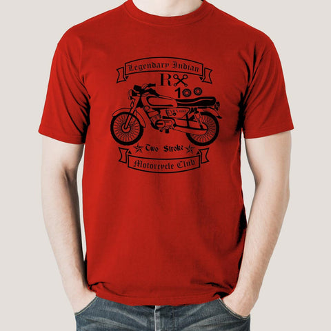 Rx 100 Legendary Indian Motorcycle T-Shirt