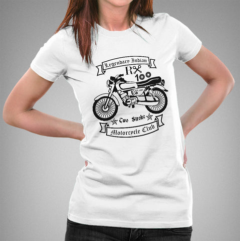 Rx 100 Legendary Indian Motorcycle - Women's T-shirt