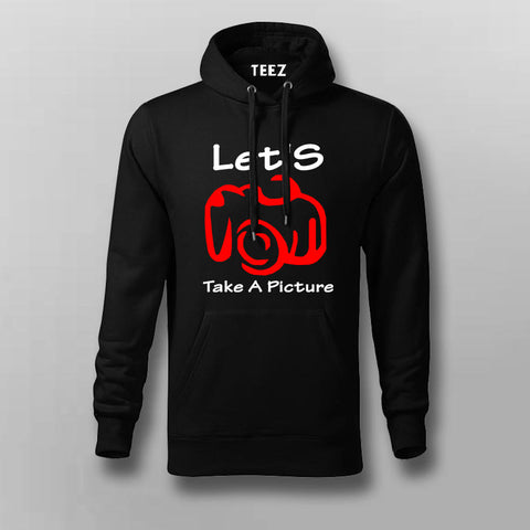 Let's Take A Picture Hoodies For Men Online India