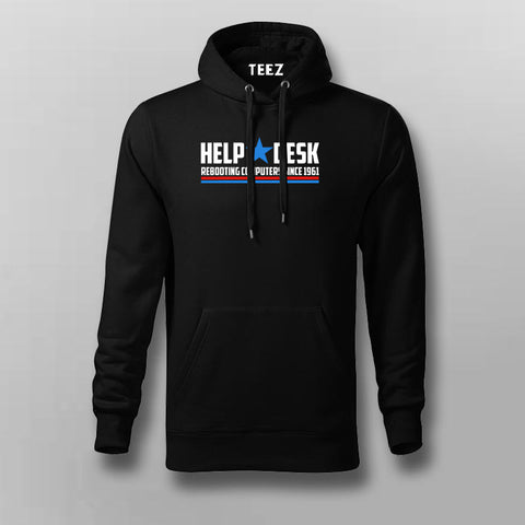 Help  Desk Rebooting Computers Since 1961 Hoodies For Men Online India