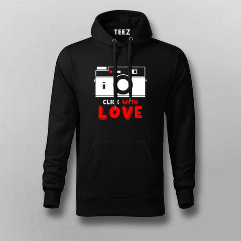 Click With Love Hoodies For Men Online India