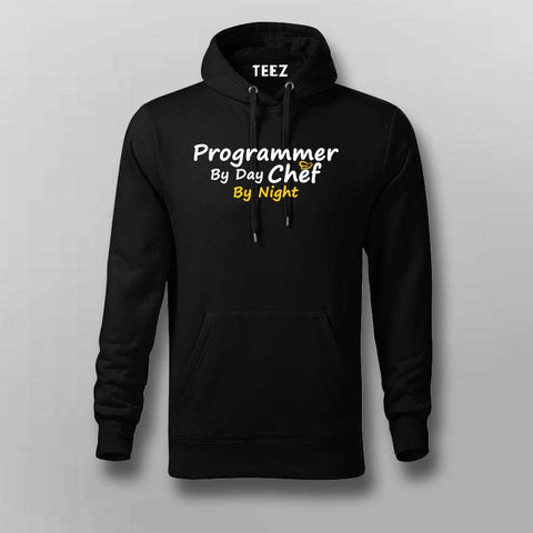 Programmer By Day Chef By Night  Hoodies For Men