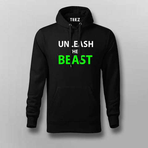 Buy Unleash the Beast Gym Hoodies For Men Online India