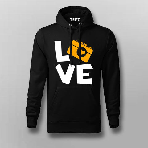 I Love Camera Hoodies For Men Online India
