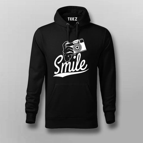 Smile Camera Hoodies For Men Online India