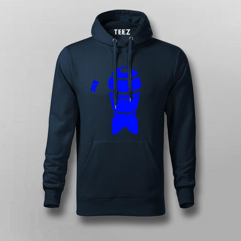 Simple Illustration of a nuclear bomb Hoodies For Men Online India