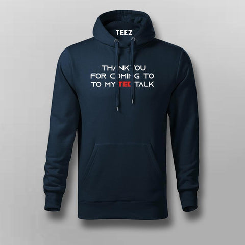 Ted Talk Hoodies For Men Online India
