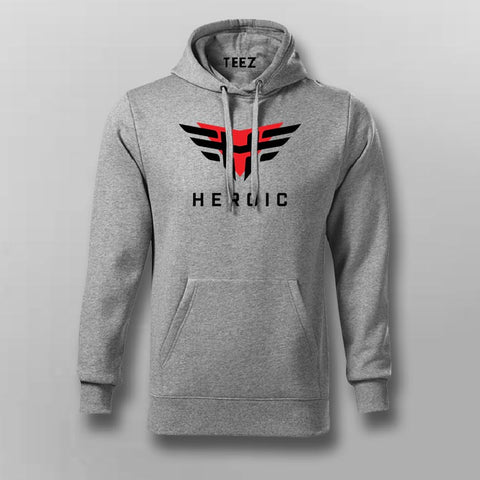 Heroic Gaming Logo Hoodie For Men Online