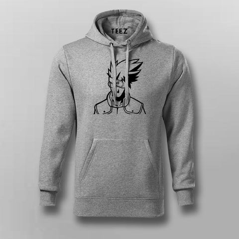 Kakashi Hatake Logo Hoodies For Men Online India