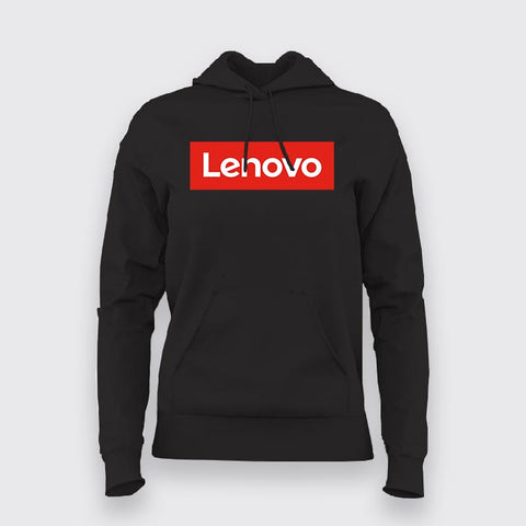 Lenovo Logo Hoodies For Women