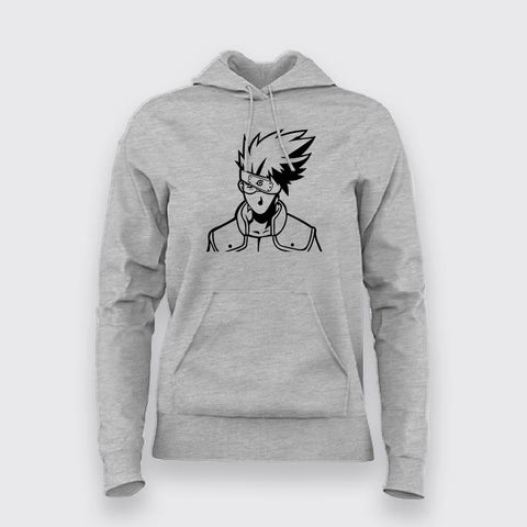 Kakashi Hatake Logo Hoodies For Women