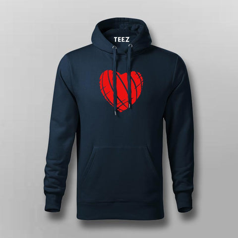 Ripped Heart Hoodies For Men Online India