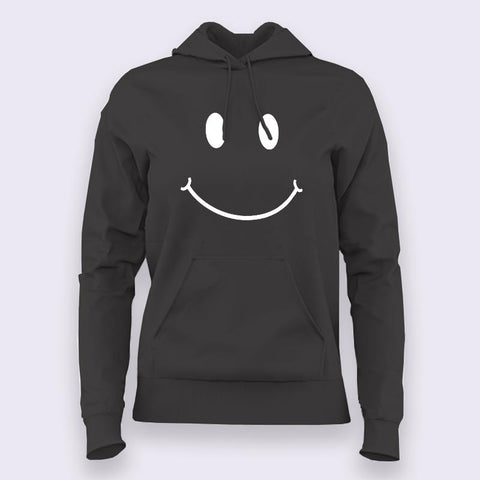 Smiley Face Hoodies For Women Online India