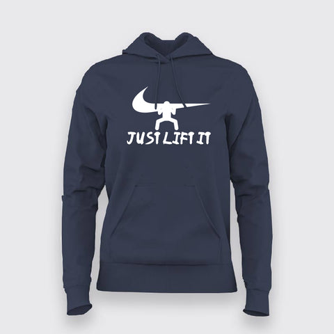 Just Lift It Nike Funny T-Shirt For Women Online India