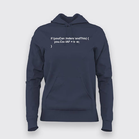 Programmer - CoolAF Code Hoodies For Women Online India
