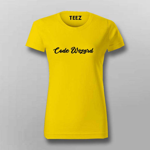 Code Wizard  T-Shirt For Women