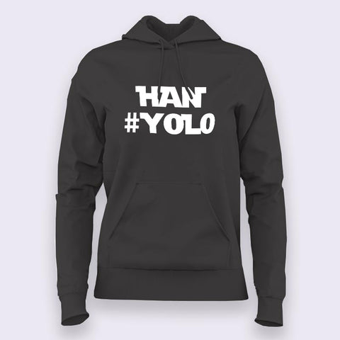 Han #Yolo Starwars Hoodies For Women Online India