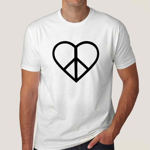 Love and Peace Men's T-shirt