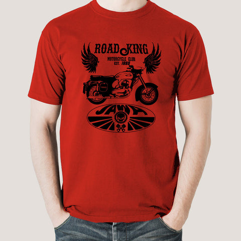 Jawa Yezdi Roadking Legendary Indian Motorcycle Men's T-shirt