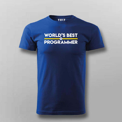 Worlds Best Programmer T-Shirt For Men