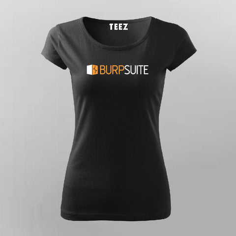 Burpsuite  T-Shirt For Women Online India