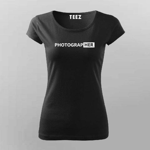 Photographer T-Shirt For Women Online India