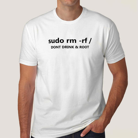 Buy This Sudo Rm Rf  Don't Drink & Root Offer  T-Shirt For Men
