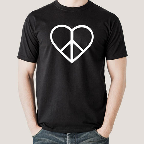 love & peace t-shirt india