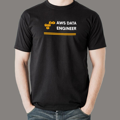Aws Data Engineer Men's Profession T-Shirt Online India