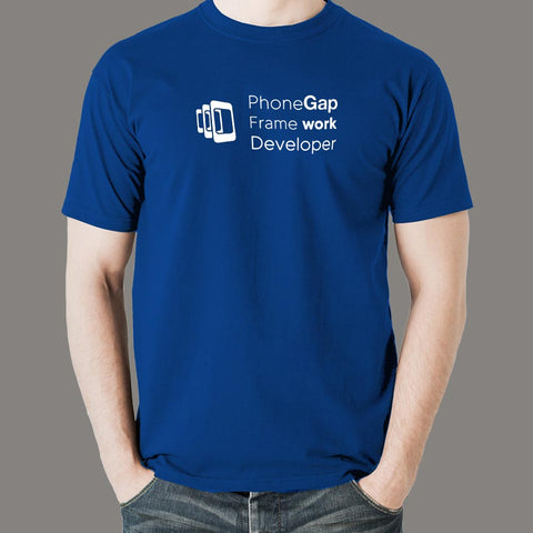 Adobe PhoneGap Framework Developer Men's Profession T-Shirt Online India