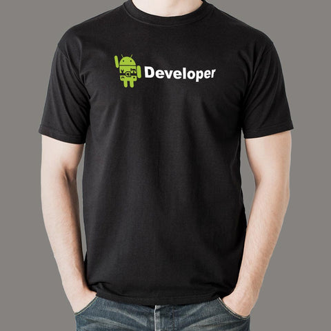 Android Developer T-Shirt for Men Online India