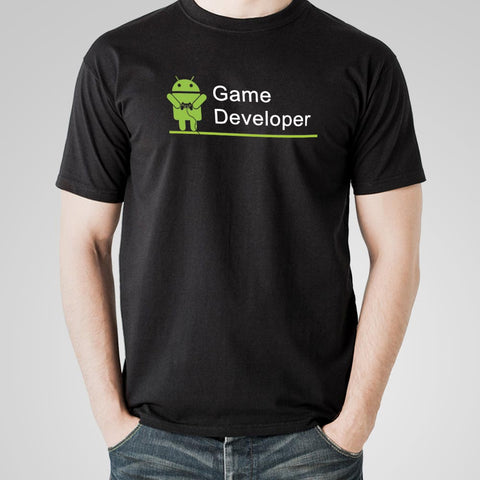Android Game Developer Men's Profession T-Shirt Online India