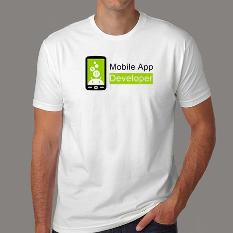 Android Mobile App Developer Men's Profession T-Shirt Online India