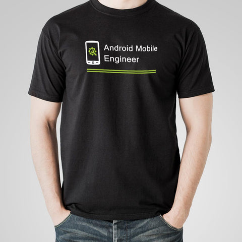Android Mobile Engineer Men's Profession T-Shirt Online India