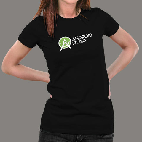 Android Studio T-Shirt For Women