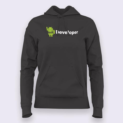 Android Developer Hoodies For Women Online India