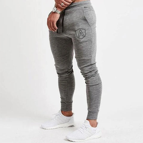 Angular logo Cotton Joggers for Men Online India