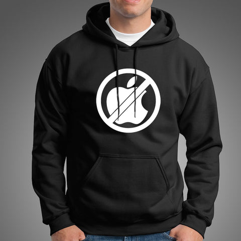 Anti Apple Men's Hoodie Online India