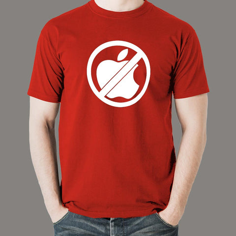 Anti Apple Men's T-shirt