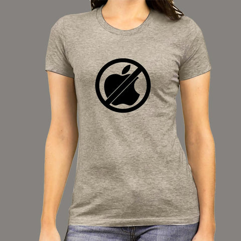 Anti Apple Women's T-shirt