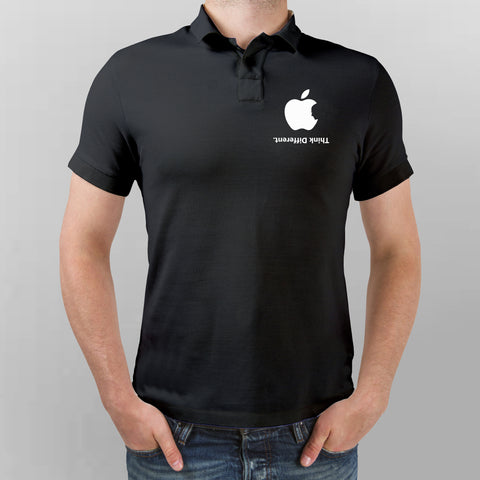 Apple Think Different Polo T-Shirt For Men Online India