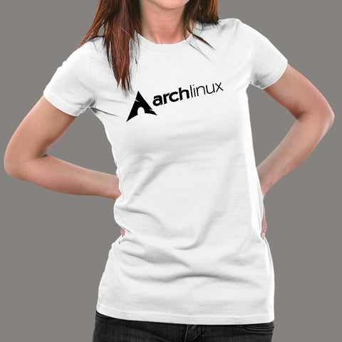 Archlinux T-Shirt For Women