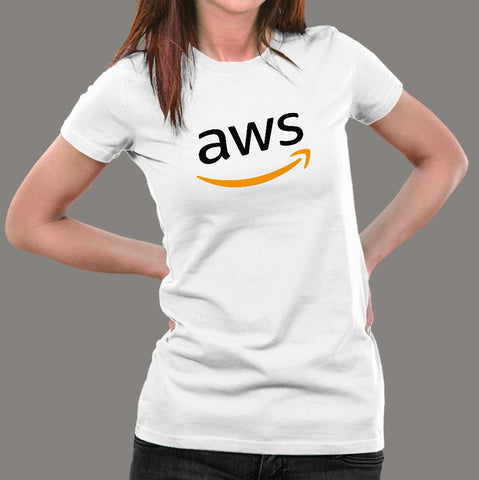Aws T-Shirt For Women Online India