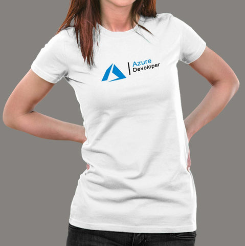 Microsoft Azure Developer Women's T-Shirt Online India