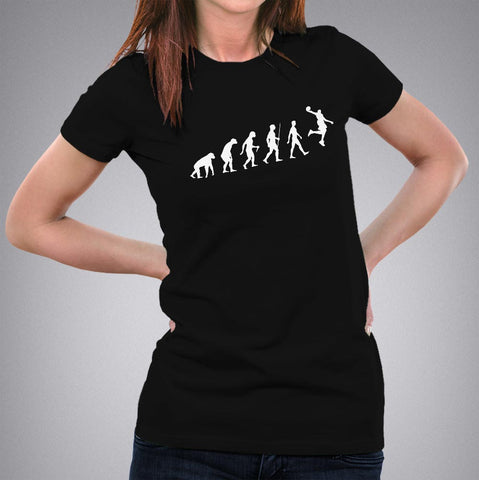 Basketball Evolution Women's T-shirt online